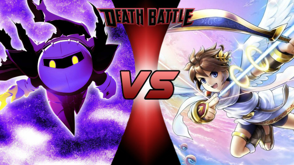 Meta Knight vs. Pit by XImortalPantzFTWX