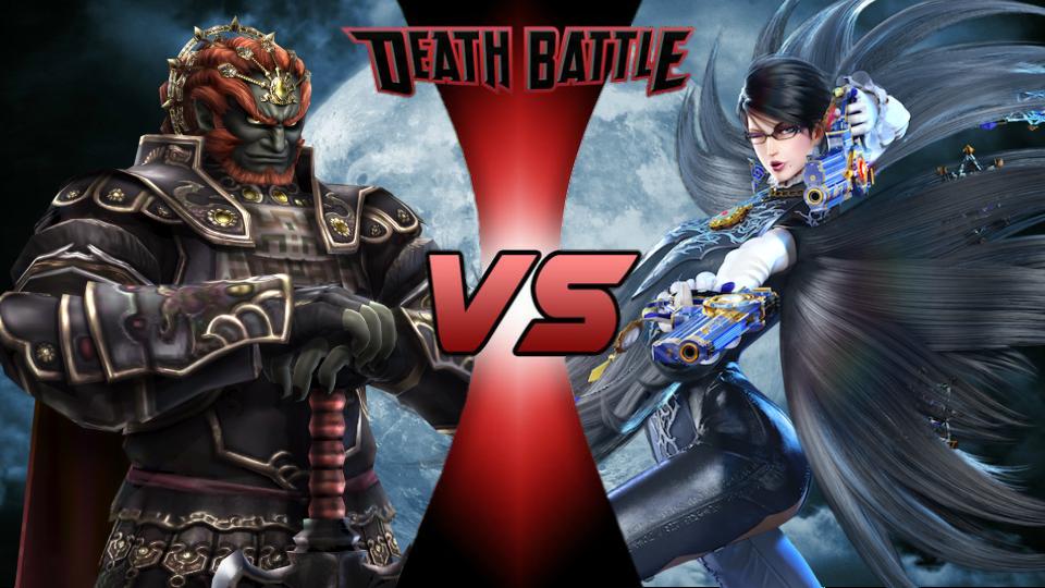 Ganondorf vs. Bayonetta by XImortalPantzFTWX