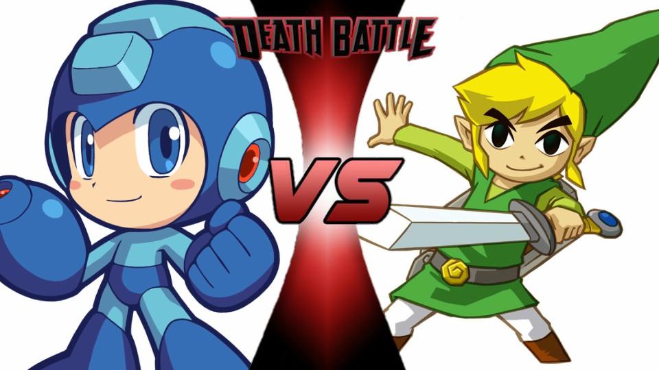 Megaman vs. Toon Link by XImortalPantzFTWX
