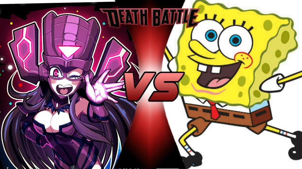 Galacta vs. SpongeBob by XImortalPantzFTWX