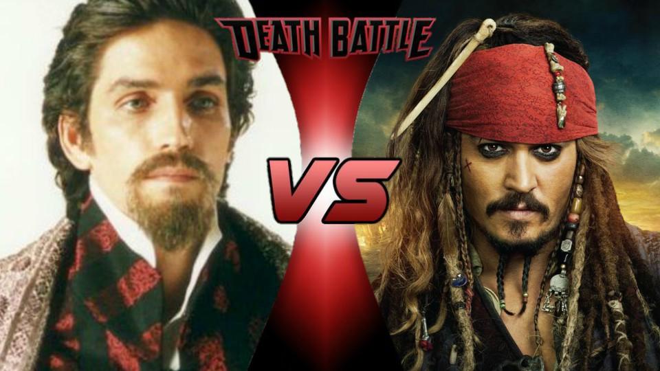 Edmond Dantes vs. Jack Sparrow by XImortalPantzFTWX