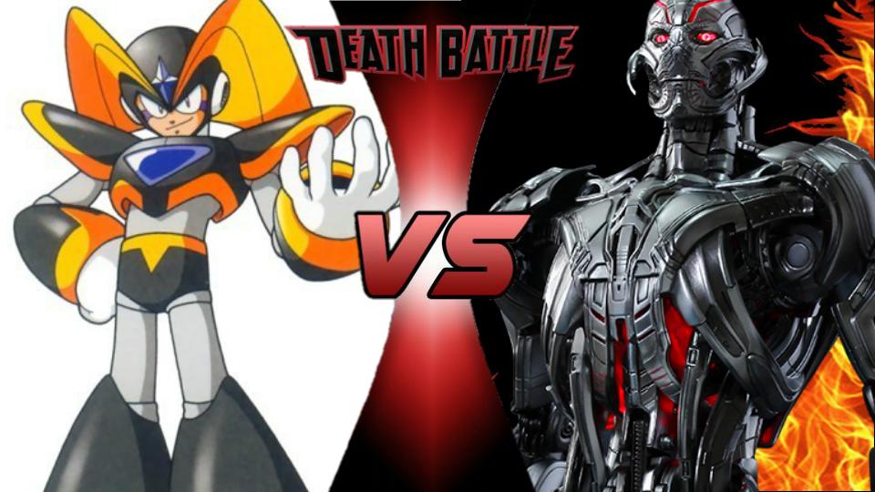 Bass vs. Ultron by XImortalPantzFTWX