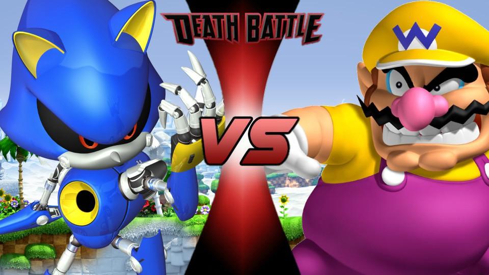 Metal Sonic vs. Wario by XImortalPantzFTWX