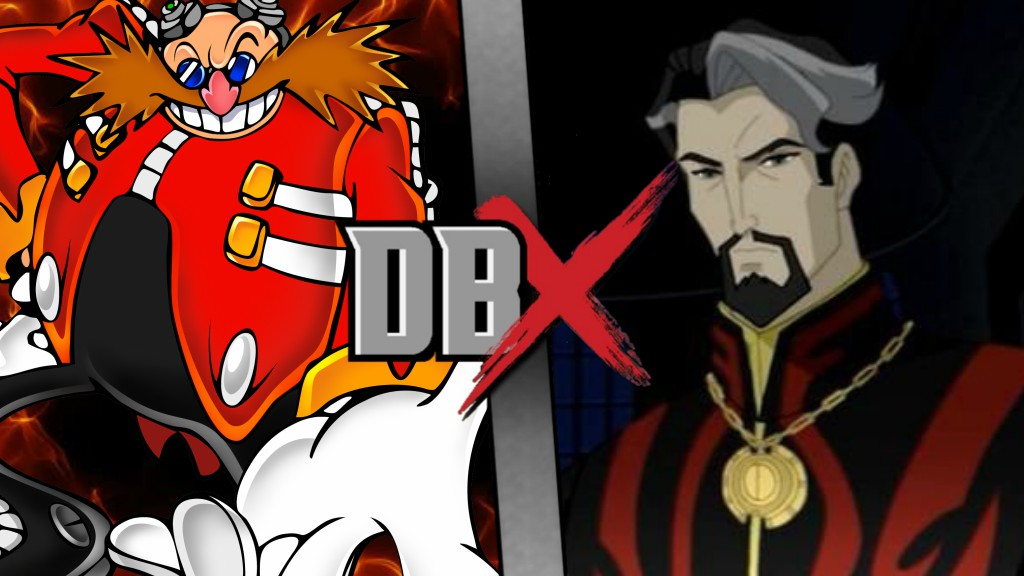 Dr. Eggman vs. Dr. Strange DBX by XImortalPantzFTWX