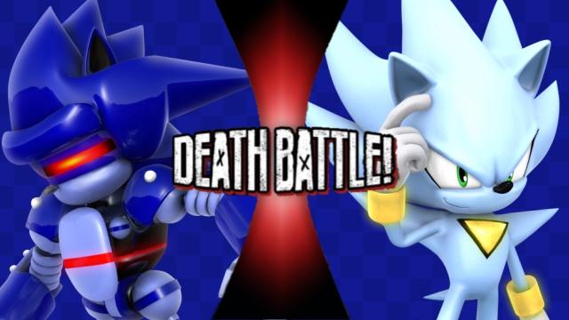 Mecha Sonic vs. Nazo by XImortalPantzFTWX