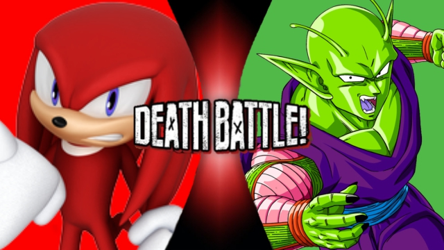 Knuckles vs. Piccolo by XImortalPantzFTWX