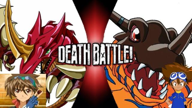 Bakugan vs. Digimon by XImortalPantzFTWX