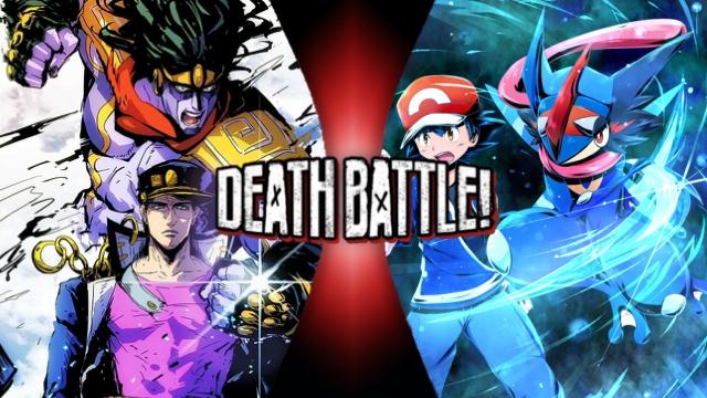 Ash vs. Jotaro Kugo by XImortalPantzFTWX