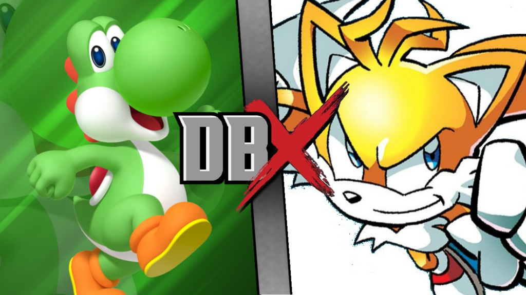 Yoshi vs. Tails DBX by XImortalPantzFTWX