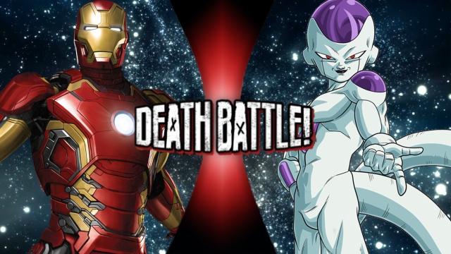 Iron Man vs. Frieza by XImortalPantzFTWX