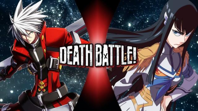 Ragna vs. Satsuki Kiryuin by XImortalPantzFTWX