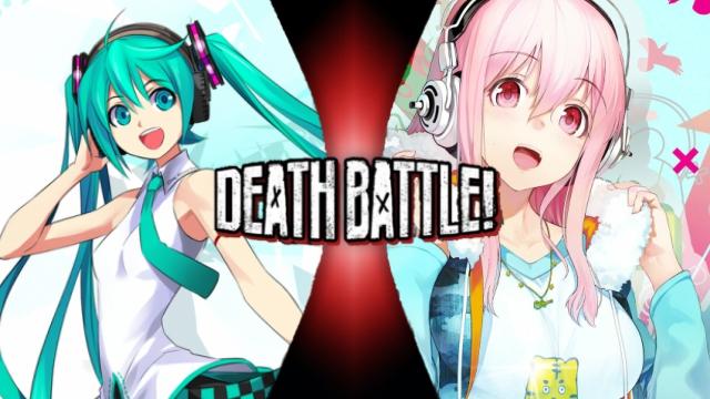 MATCH CLAIM Hatsune Miku vs. Super Sonico by XImortalPantzFTWX