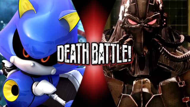 Metal Sonic vs. Fulgore by XImortalPantzFTWX