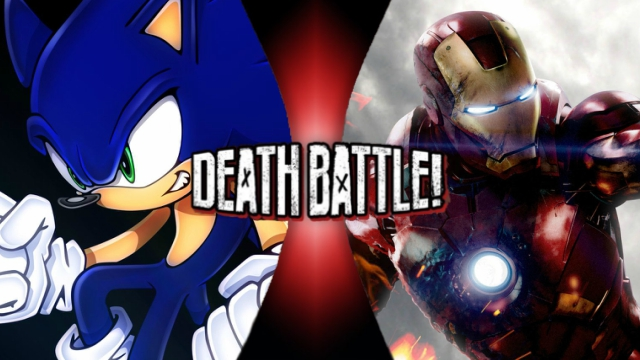 Sonic vs. Iron Man by XImortalPantzFTWX