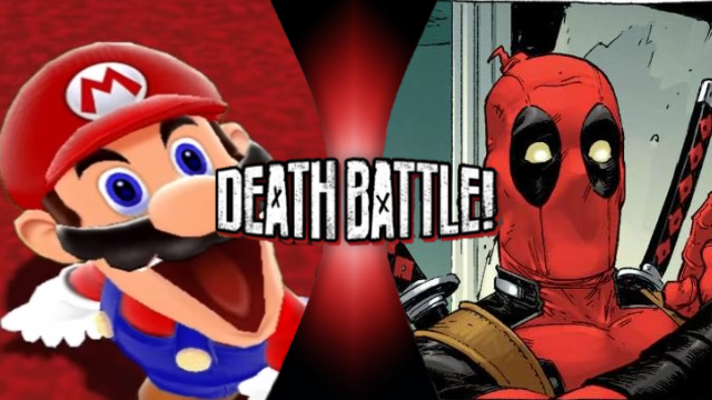 SMG4 Mario vs. Deadpool by XImortalPantzFTWX