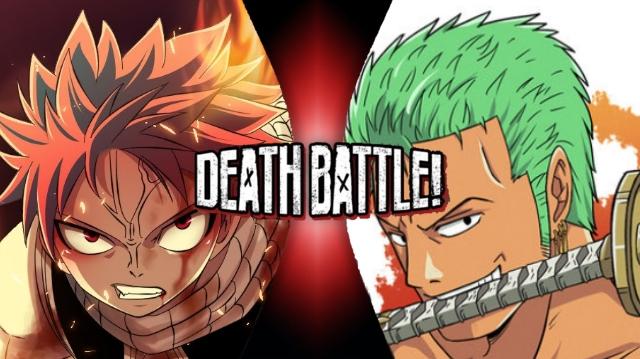 Natsu vs. Zoro by XImortalPantzFTWX
