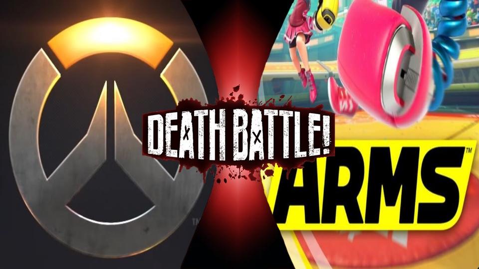 Overwatch vs. ARMS by XImortalPantzFTWX