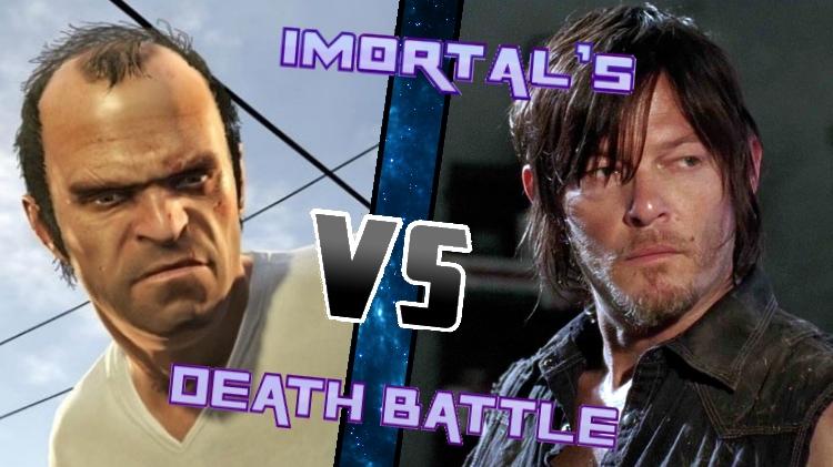 Trevor vs. Daryl by XImortalPantzFTWX