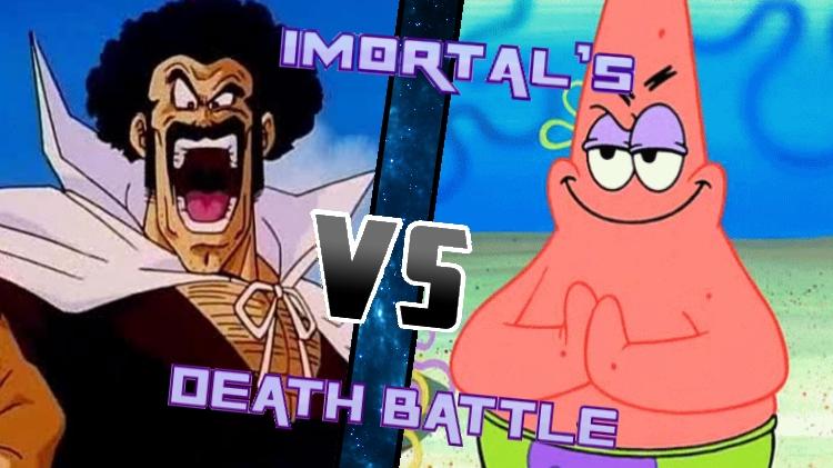 Hercule Satan vs. Patrick Star by XImortalPantzFTWX