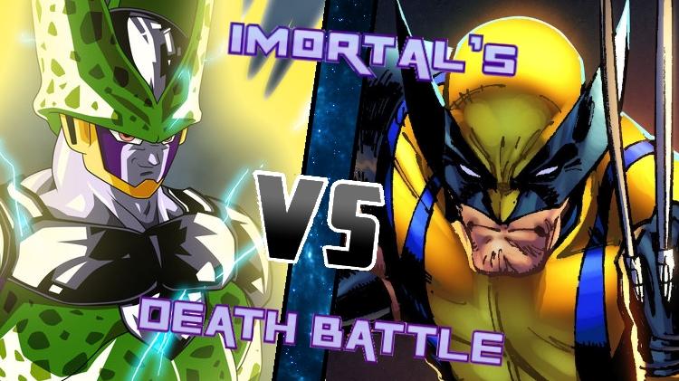 Cell vs. Wolverine by XImortalPantzFTWX
