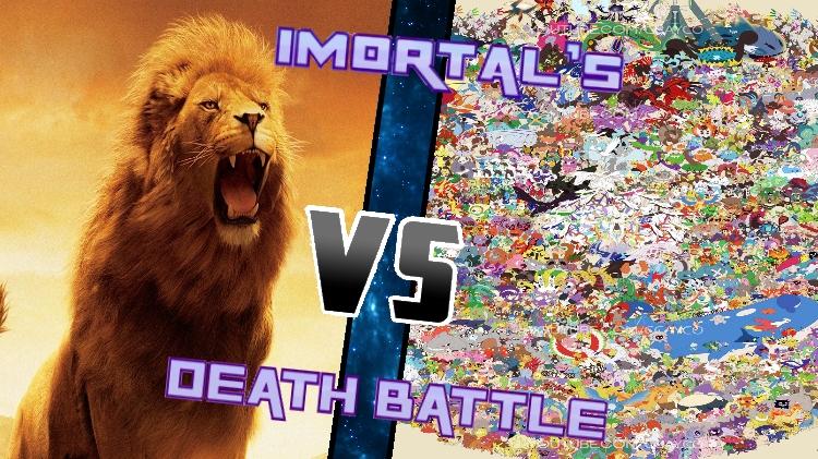 1 Billion Lions vs. all 802 Pokemon by XImortalPantzFTWX