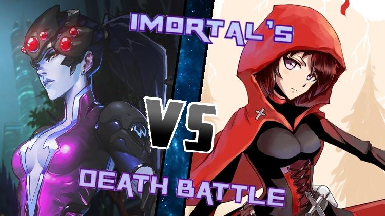 Widowmaker vs. Ruby Rose by XImortalPantzFTWX