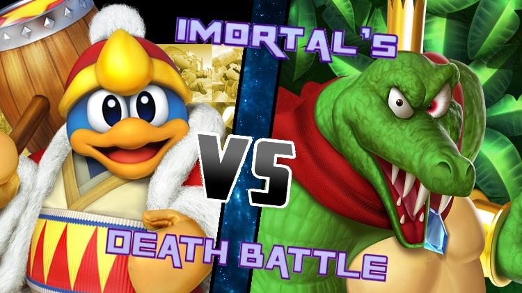 King Dedede vs King K. Rool by XImortalPantzFTWX