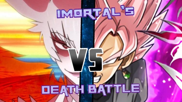 Ragyo vs. Goku Black by XImortalPantzFTWX