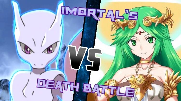 Mewtwo vs. Palutena by XImortalPantzFTWX