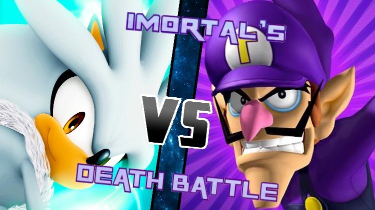 Silver vs. Waluigi by XImortalPantzFTWX