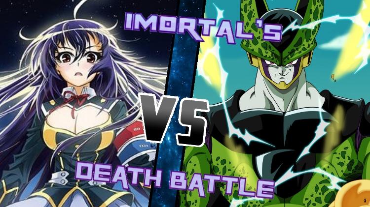 Medaka Kurokami vs. Perfect Cell by XImortalPantzFTWX