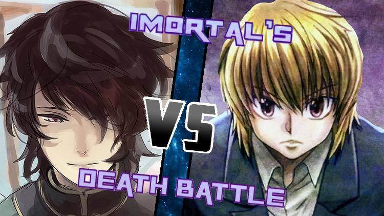 Lie Ren vs. Kurapika by XImortalPantzFTWX