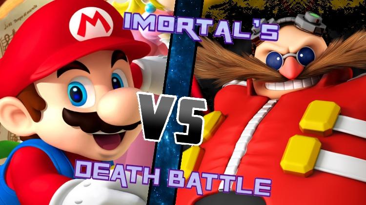 Mario vs. Eggman by XImortalPantzFTWX