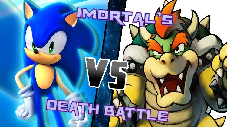 Sonic vs. Bowser by XImortalPantzFTWX
