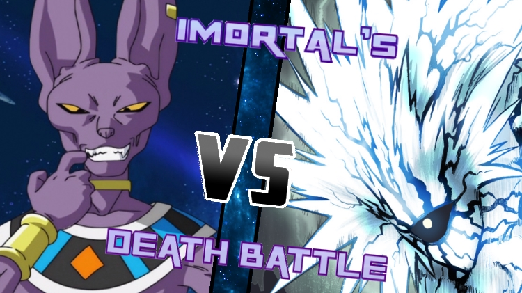 Lord Beerus vs. Lord Boros by XImortalPantzFTWX