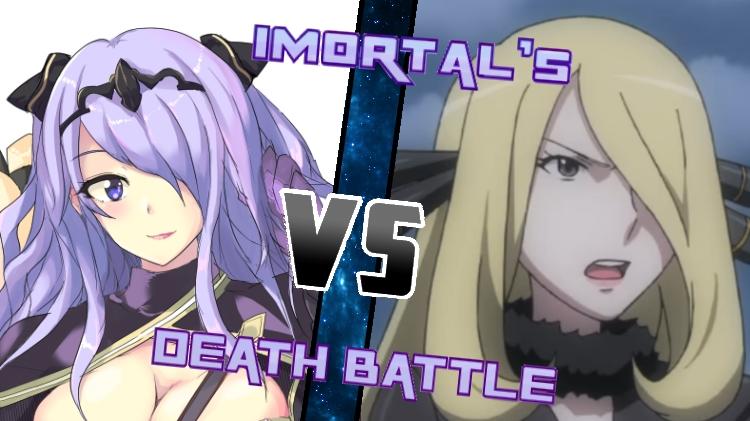 Camilla vs. Cynthia by XImortalPantzFTWX