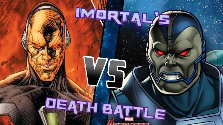 Mongul vs. Appleclips by XImortalPantzFTWX