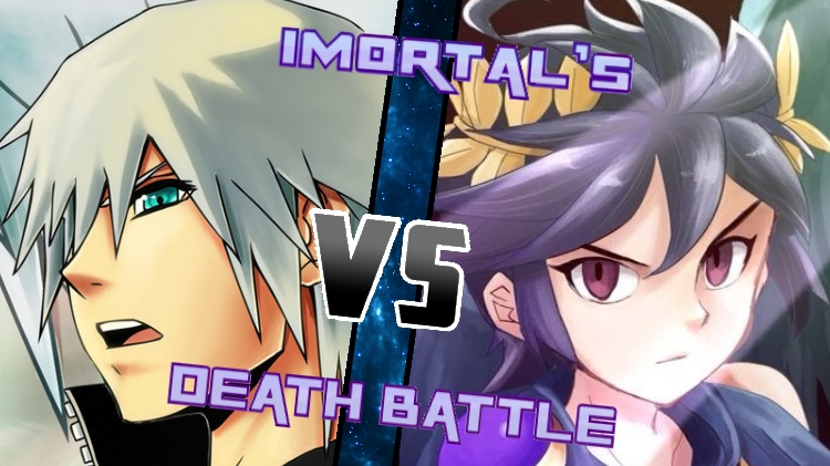Riku vs. Dark Pit by XImortalPantzFTWX