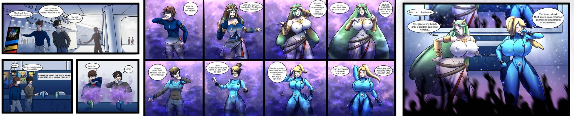Collab: Super Smash Balloons! (TG/TF Sequence)