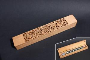 Heddal Pencil Case by Thorleifr