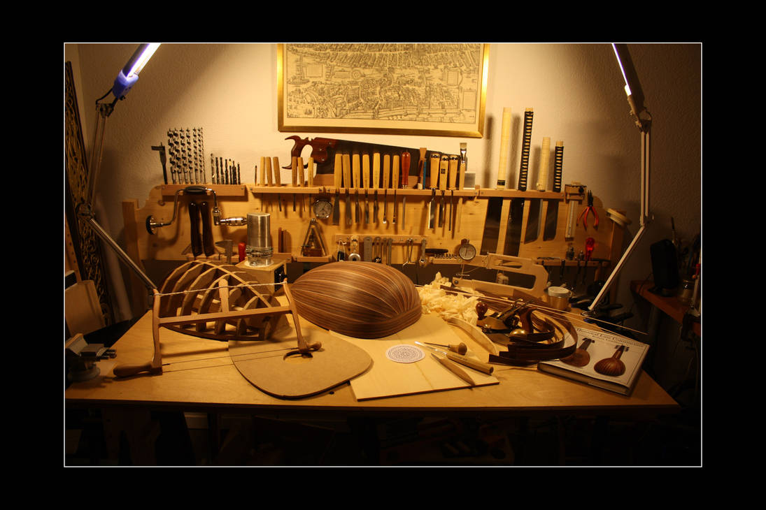 Lute making