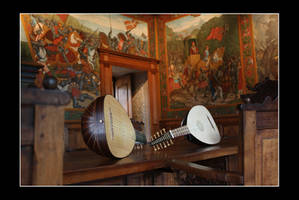 A pair of lutes