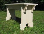 Gothic stool by Thorleifr