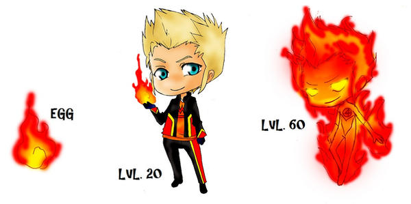 Johnny Storm Squiby By SonOfLaufey On DeviantArt