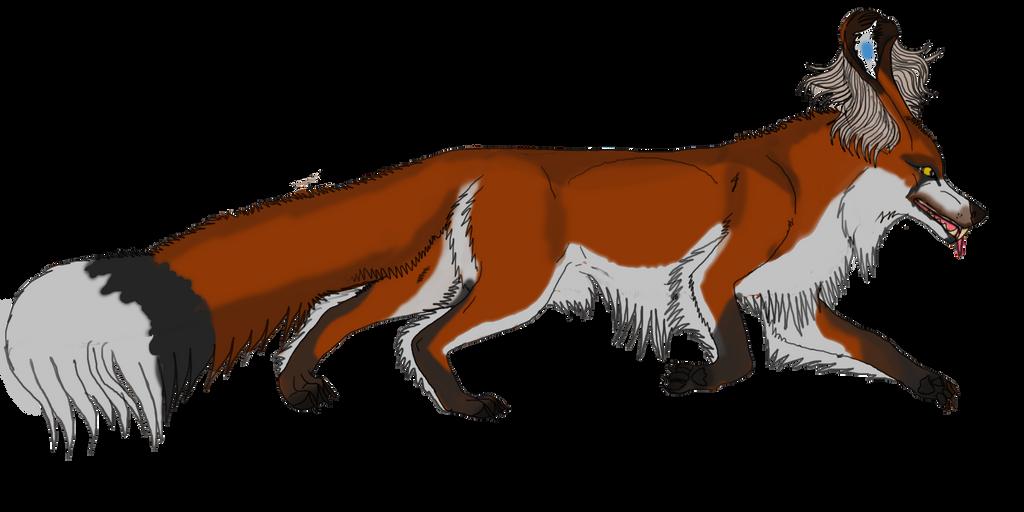 Sionnach species longhair by lighteningfox