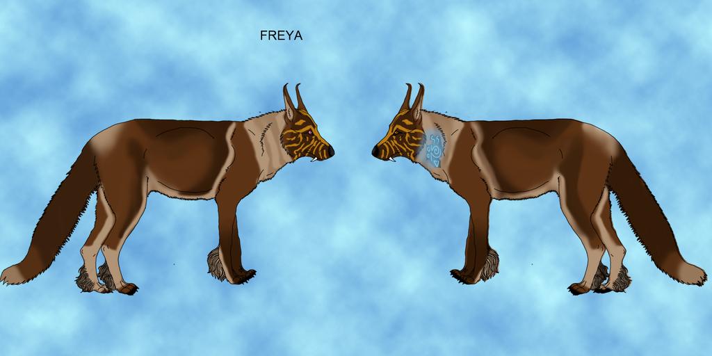 Freya by lighteningfox