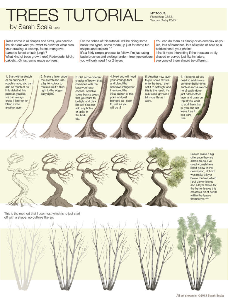 Trees Tutorial by SarahScala