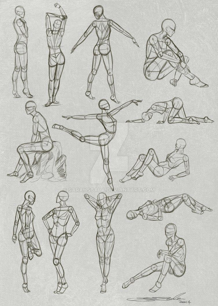 Pose Practice by SarahScala