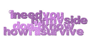 Texto PNG 002 by notasinglesong
