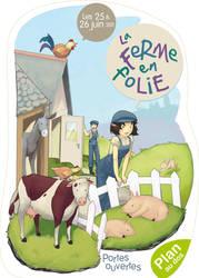 La ferme en folie - Flyer by Sedeto